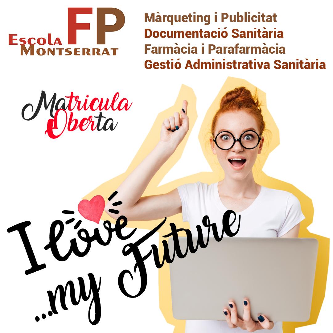 Matrícula Oberta FP Escola Montserrat